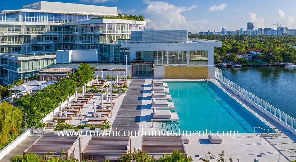 pool deck at Ritz-Carlton Miami Beach Residences