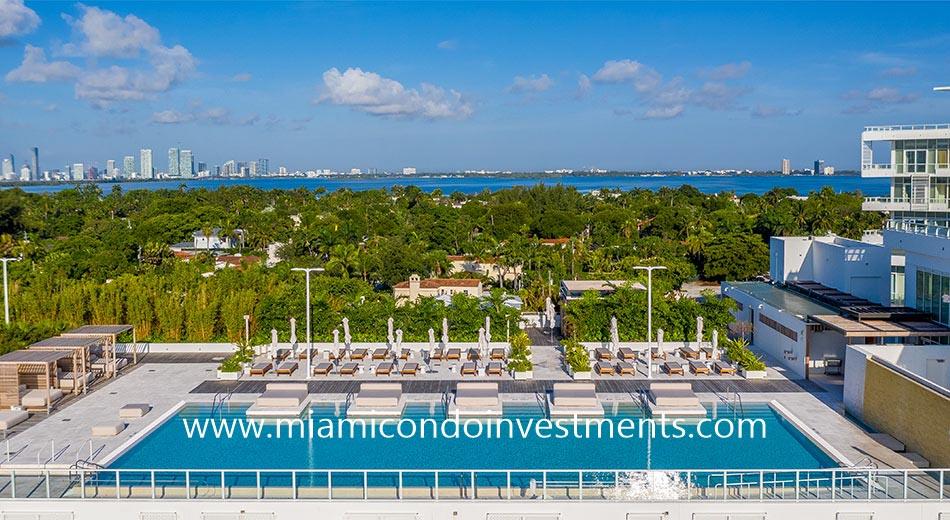 views from pool deck at Ritz-Carlton Miami Beach