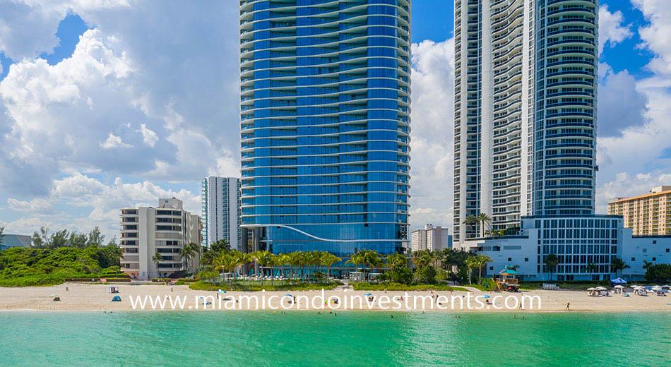 Ritz-Carlton Sunny Isles oceanfront condo building