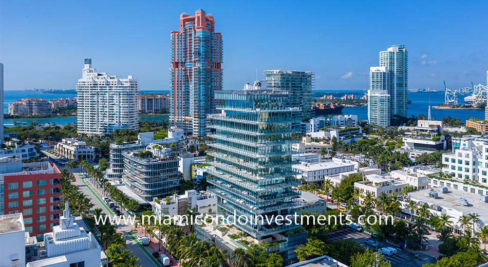 South of Fifth condos in Miami Beach FL