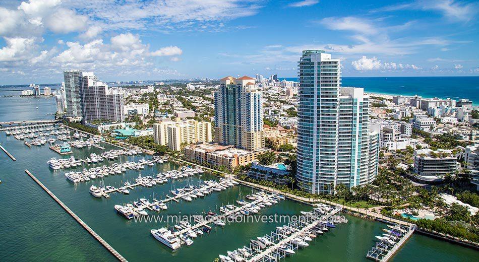 South of Fifth condos Florida