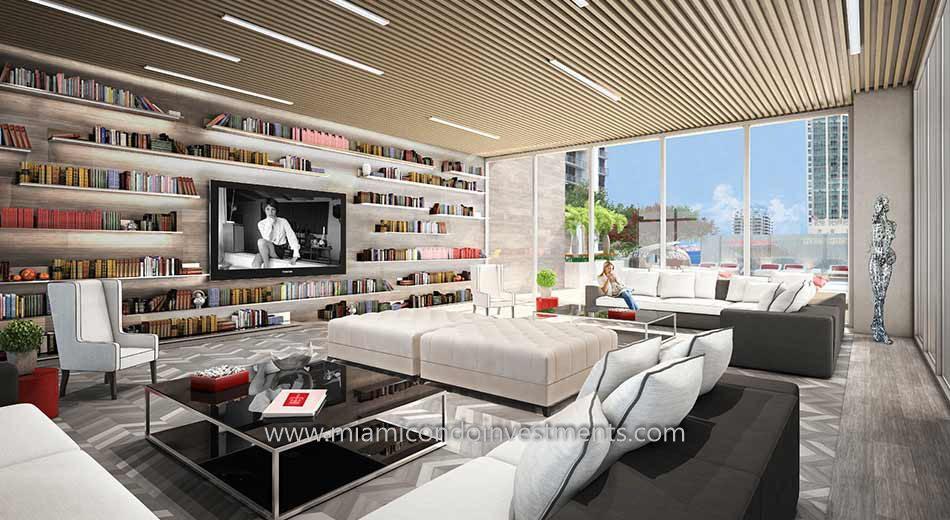 club room at The Bond