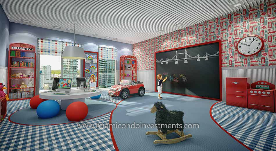 Children's Playroom at The Bond