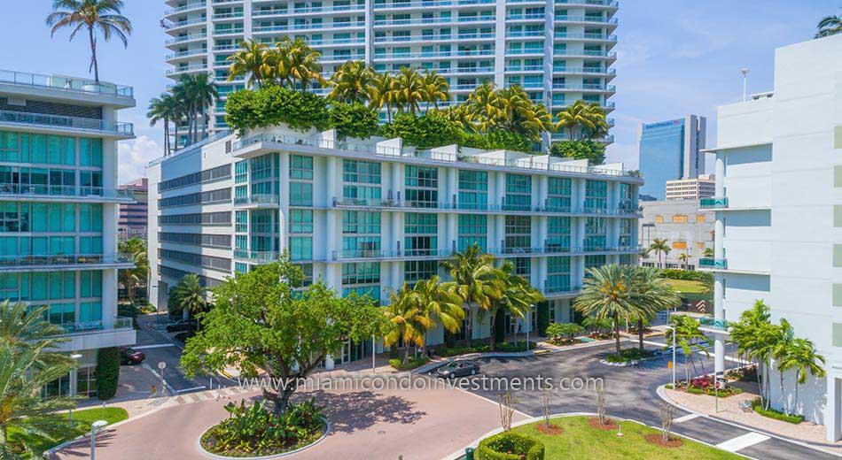 The Ivy condominiums in Miami