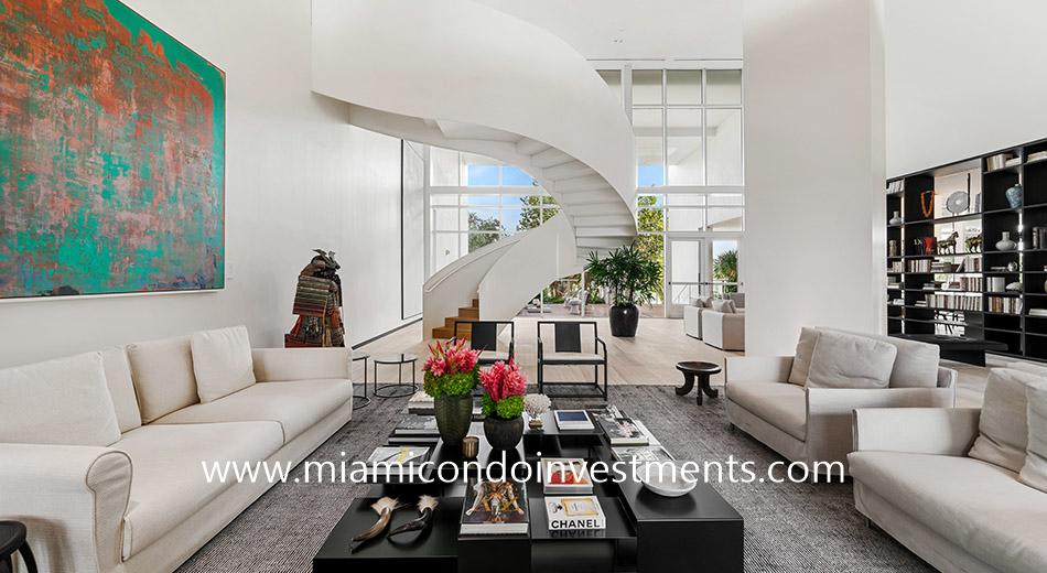 Ritz-Carlton Residences Miami Beach lobby