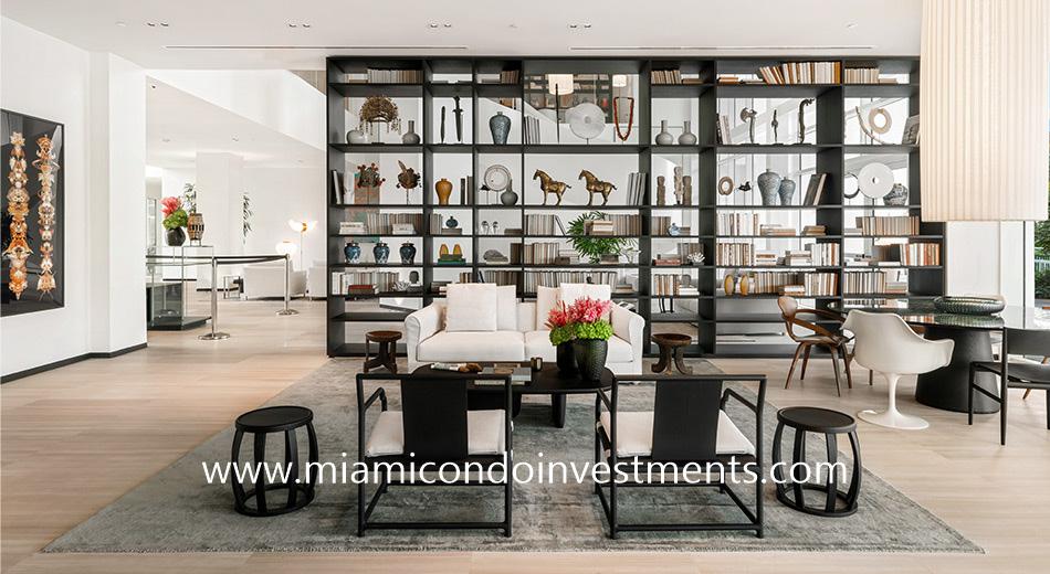 Ritz-Carlton Residences Miami Beach social lounge