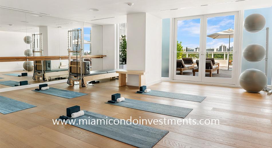 Ritz-Carlton Residences Miami Beach pilates