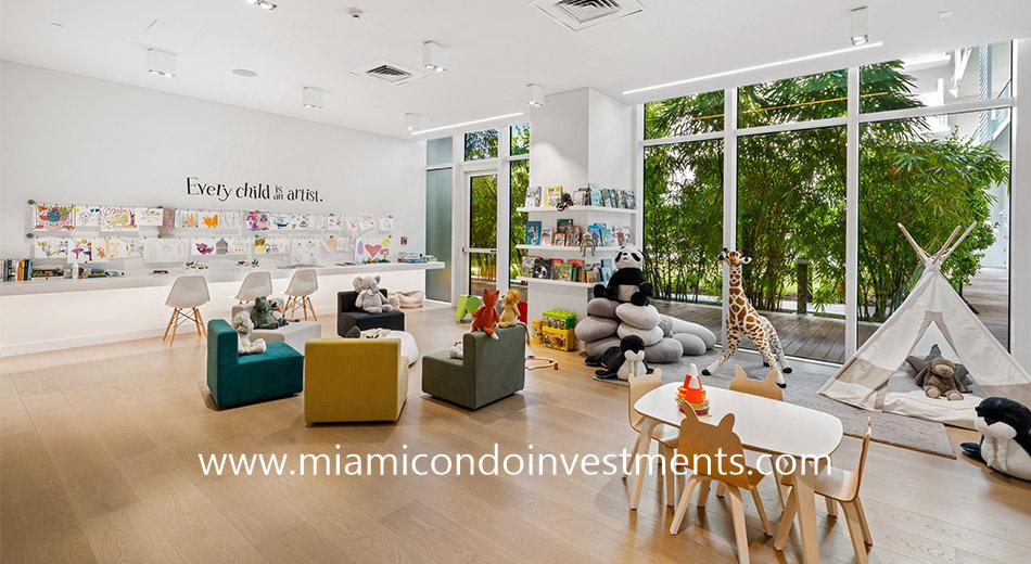 kids room at Ritz-Carlton Residences Miami Beach