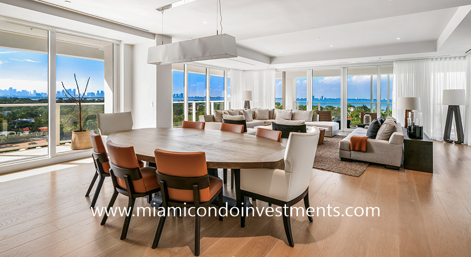 furnished 2 bedroom condo at Ritz-Carlton Residences Miami Beach