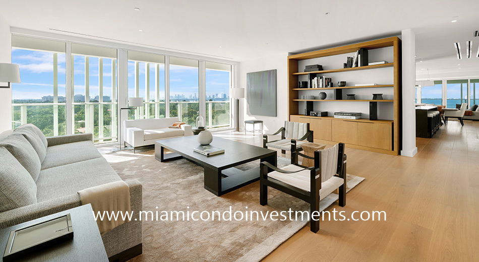 LIAIGRE furnished condo at The Ritz-Carlton Residences Miami Beach