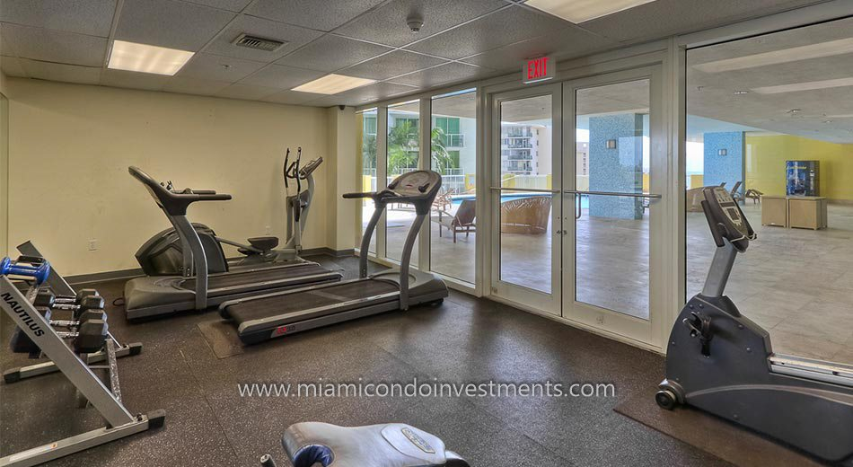 The Sail Brickell condo gym