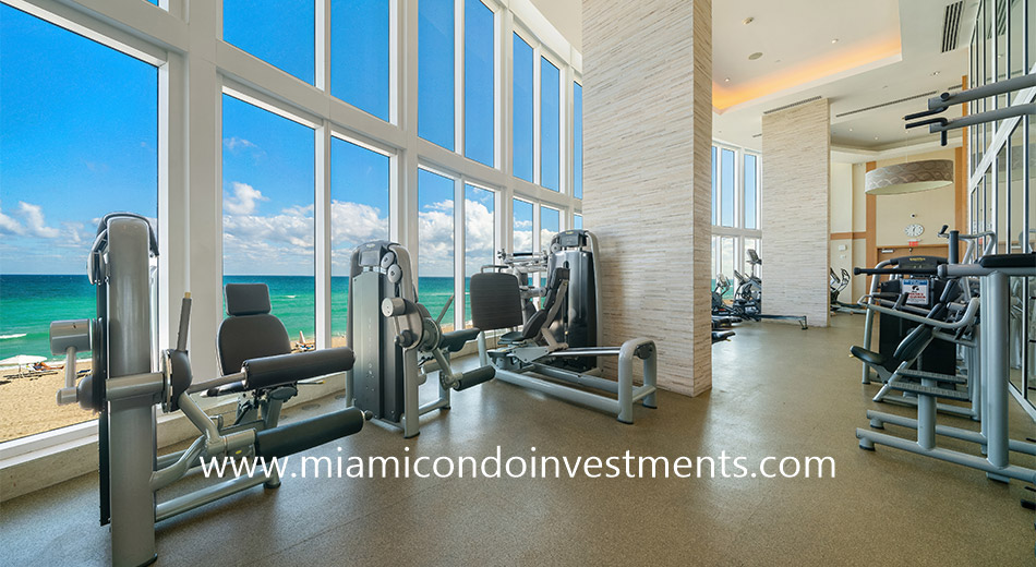 fitness center at Trump Tower 2
