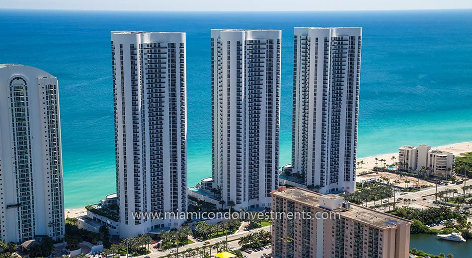Trump Towers I condos sunny isles beach ocean views