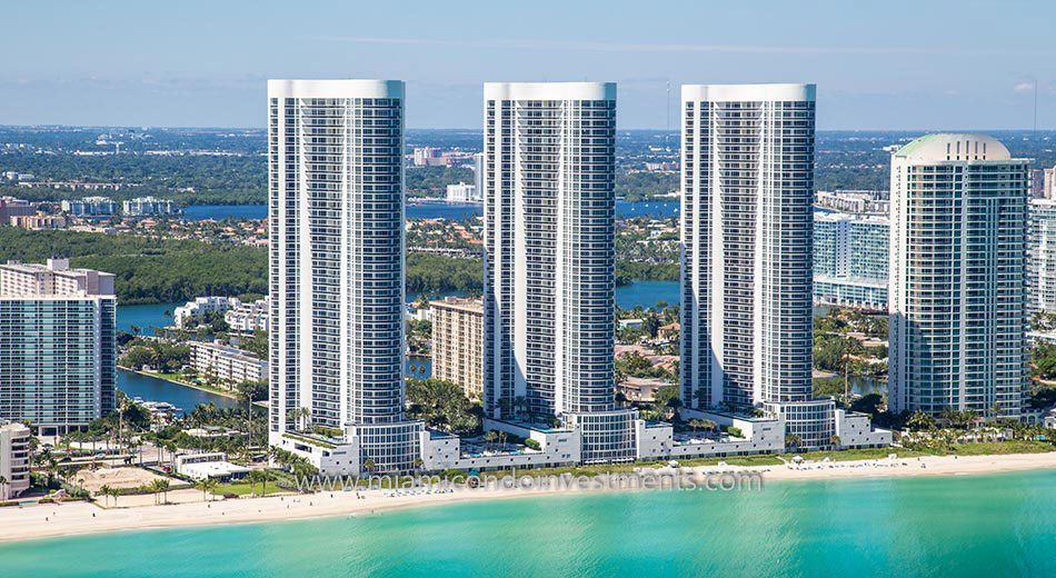 Trump Towers II condos sunny isles beach