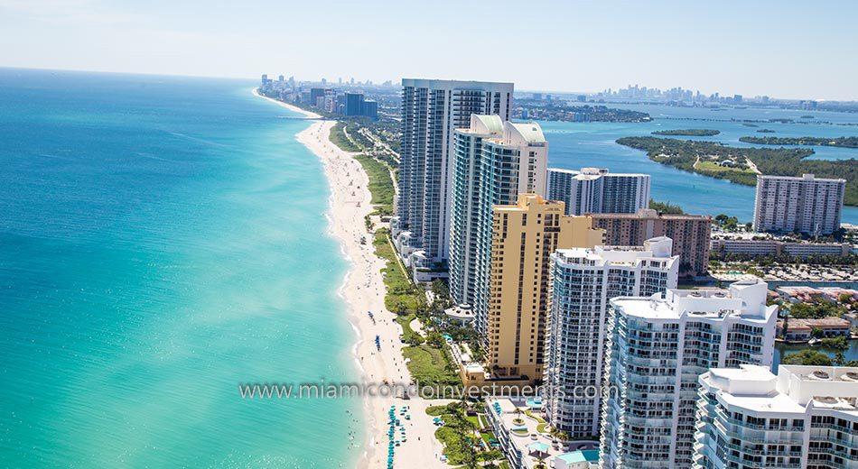 Trump Towers II oceanfront condos