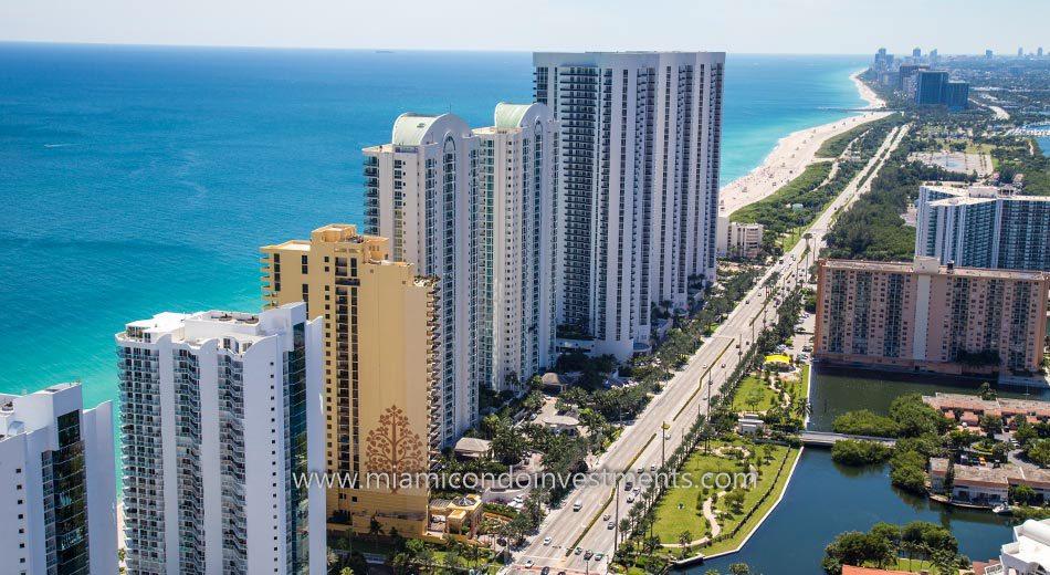 Trump Towers II condos miami sunny isles beach