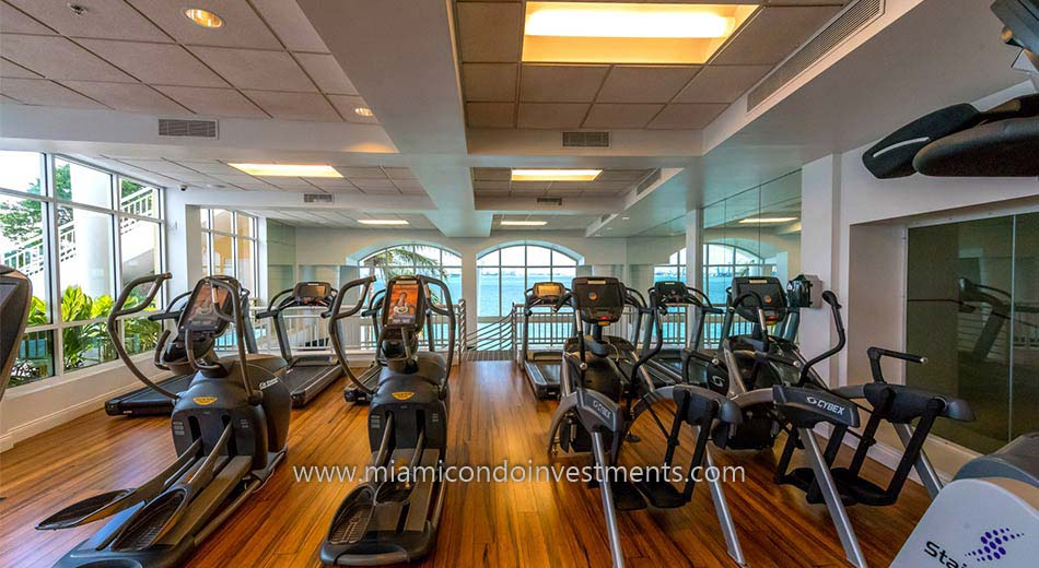 Two Tequesta Point cardio room