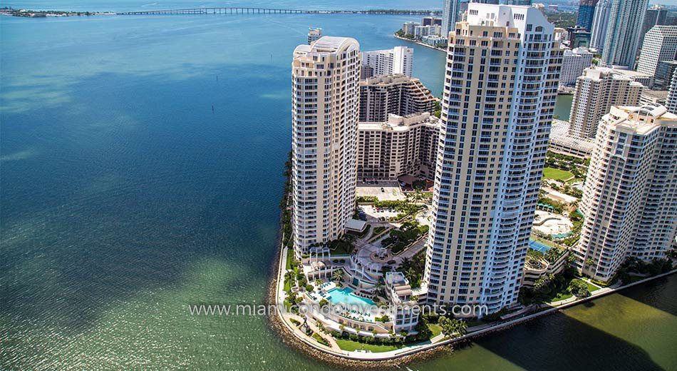 Two Tequesta Point condos exterior