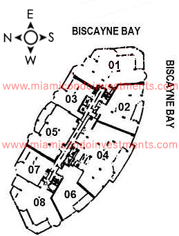 Two Tequesta Point site plan