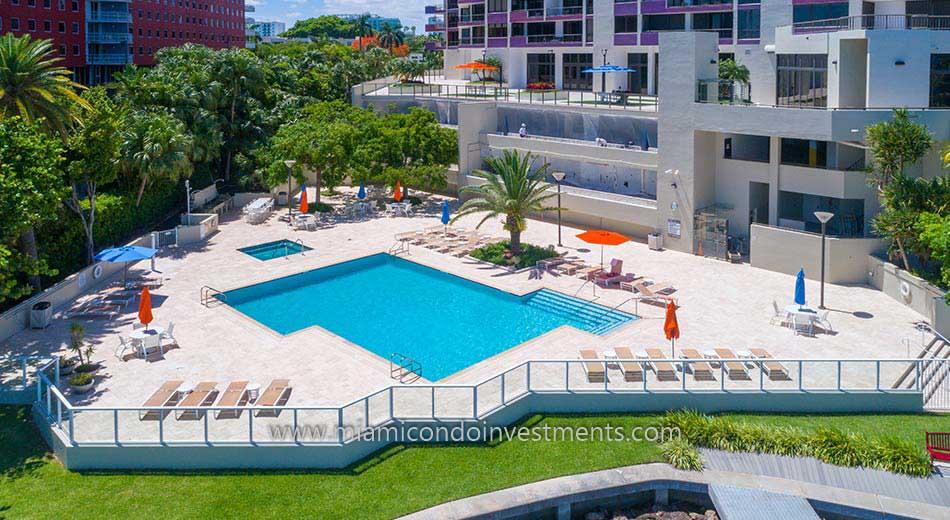 Villa Regina pool deck