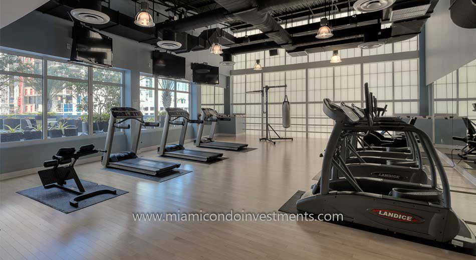 Vue at Brickell gym