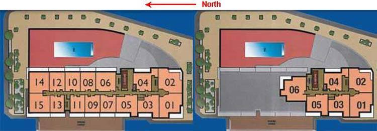Vue at Brickell Key Plan
