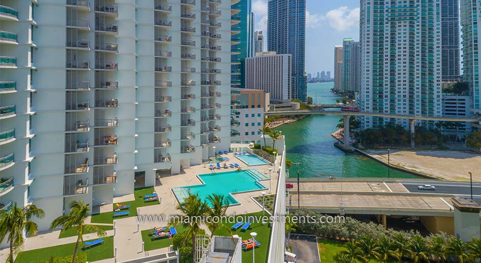 view from Wind Miami pool deck