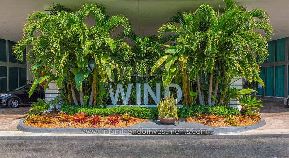 Wind condominiums in Miami Florida