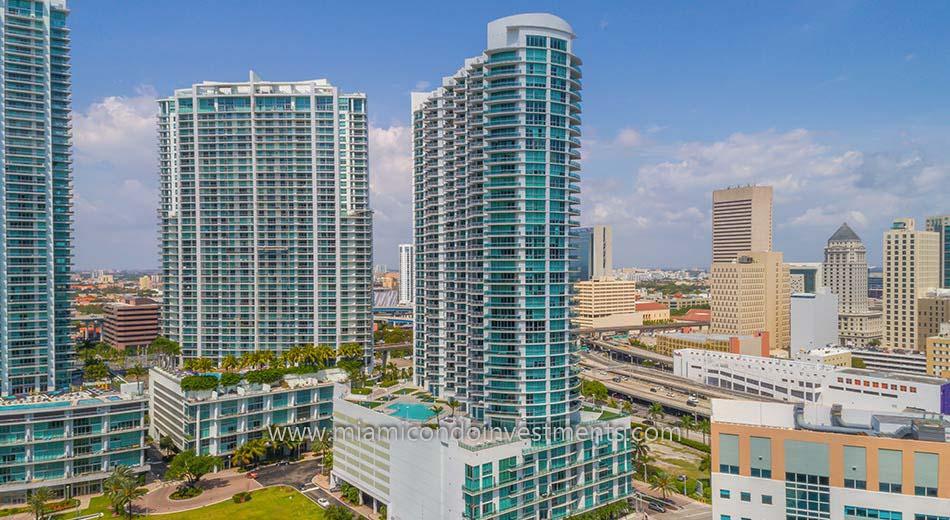 Wind condominiums in Miami