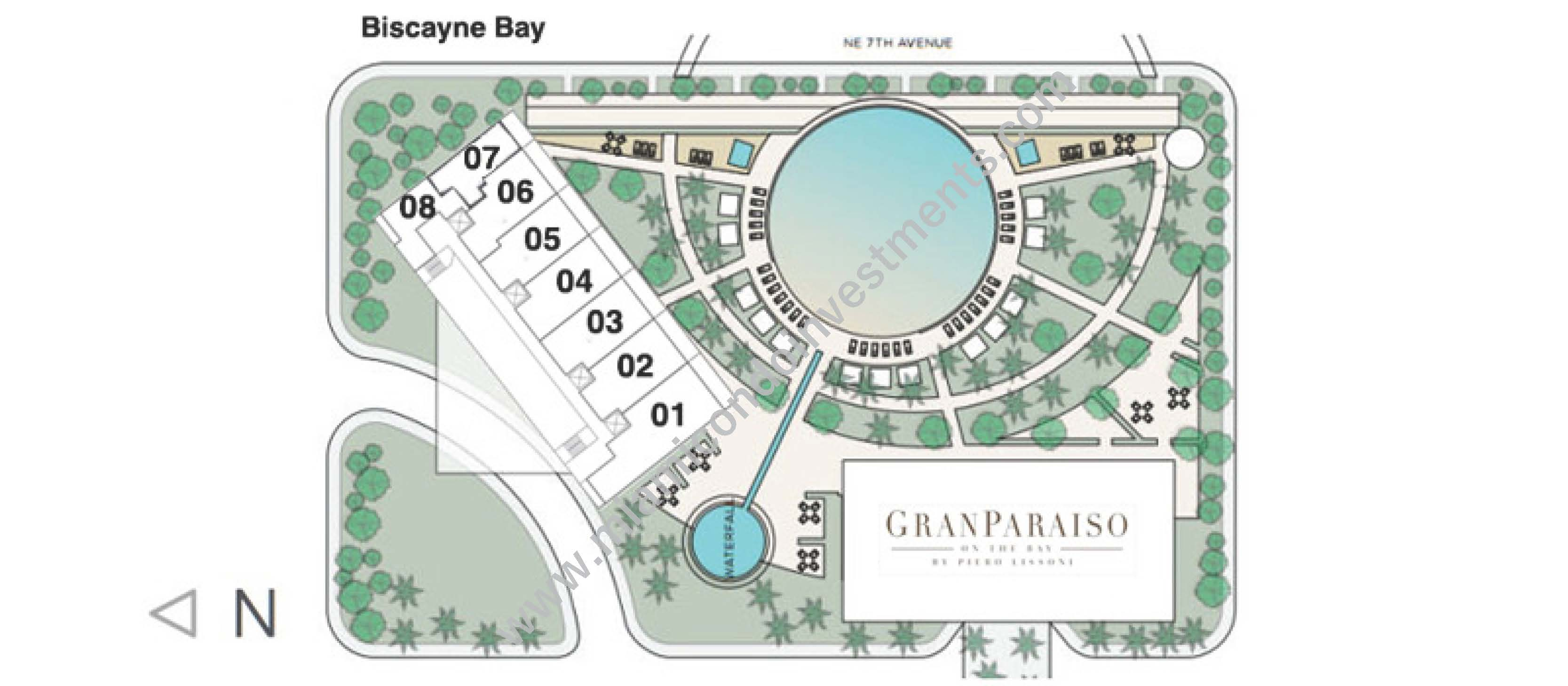 paraiso-bay-key-plan