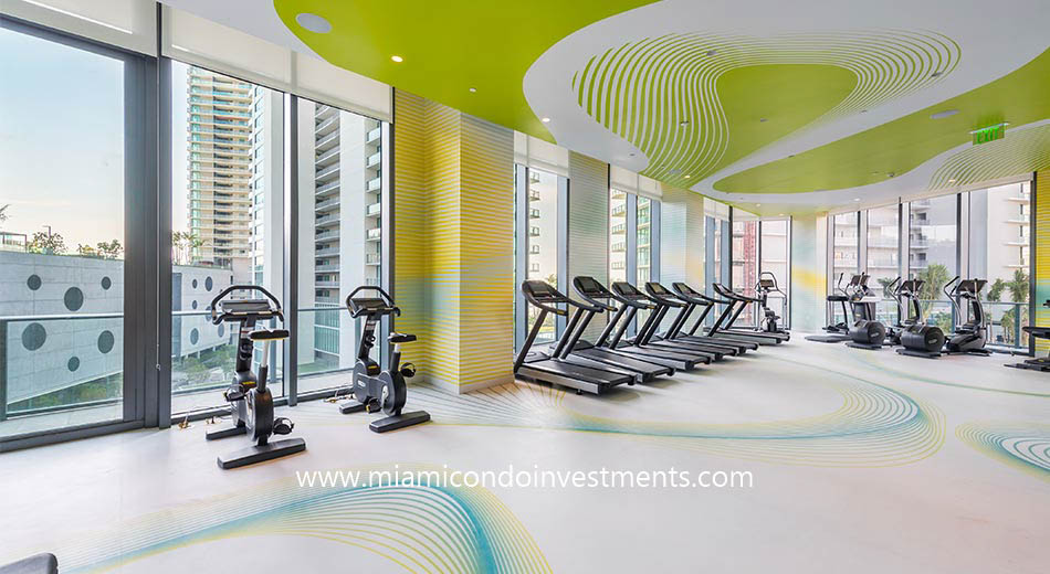 Paraiso Bayviews fitness center