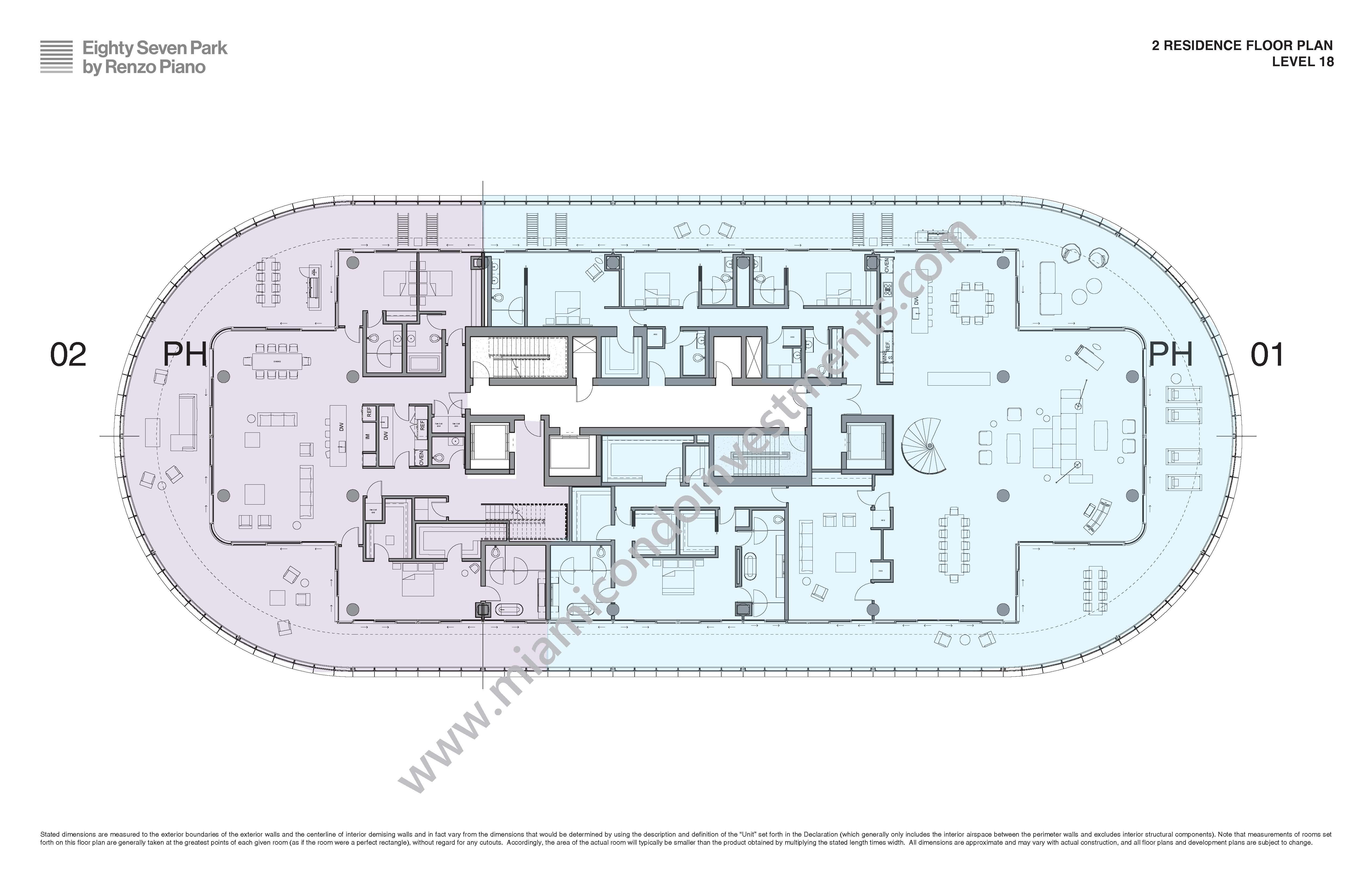 Site Plan Penthouse
