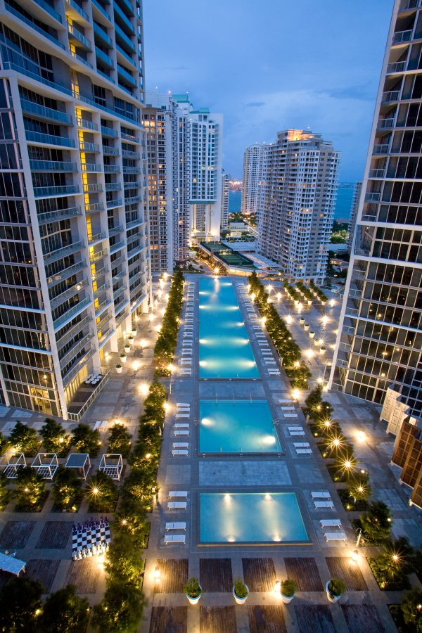 Icon Brickell Pool Closing