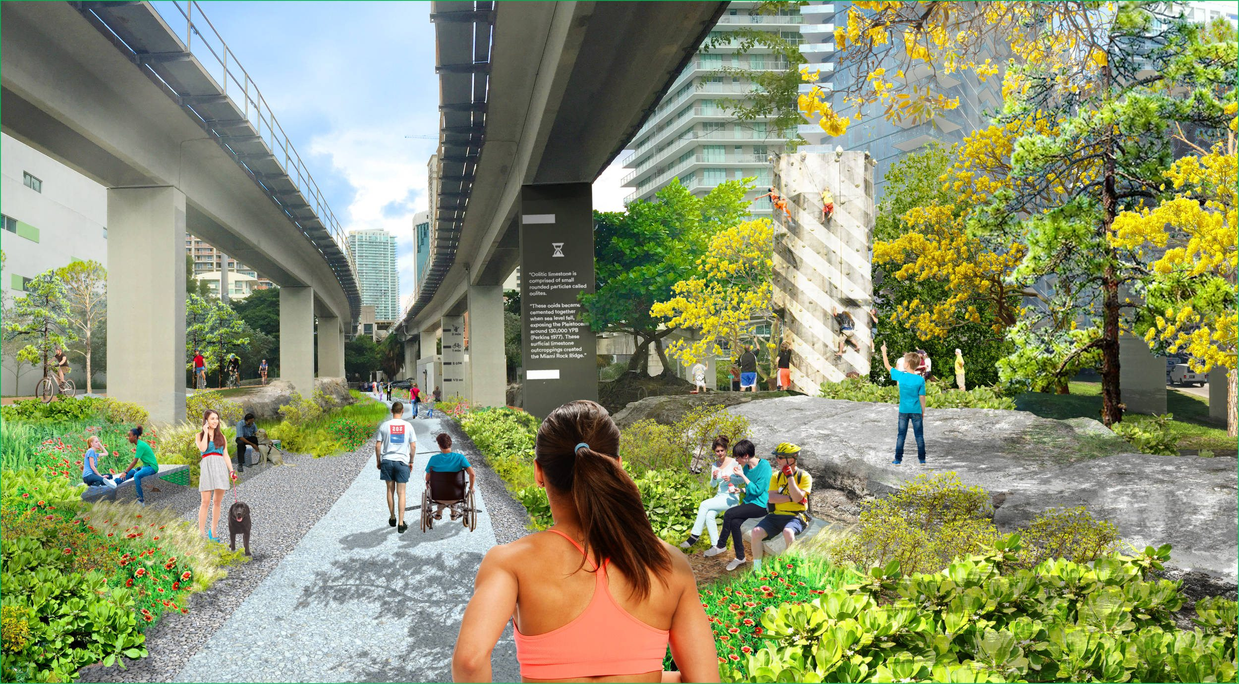 Underline Park at Brickell Station