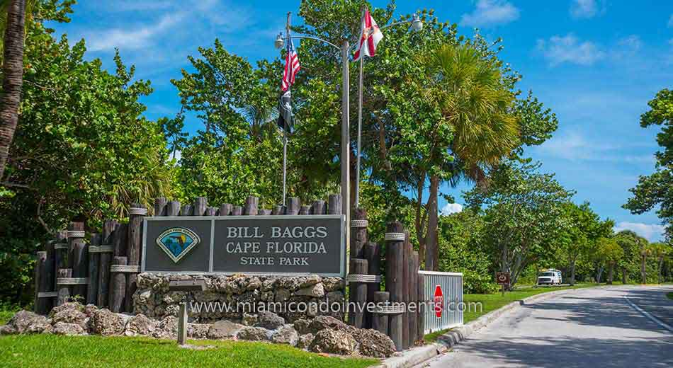 Bill Baggs Cape Florida State Park on Key Biscayne