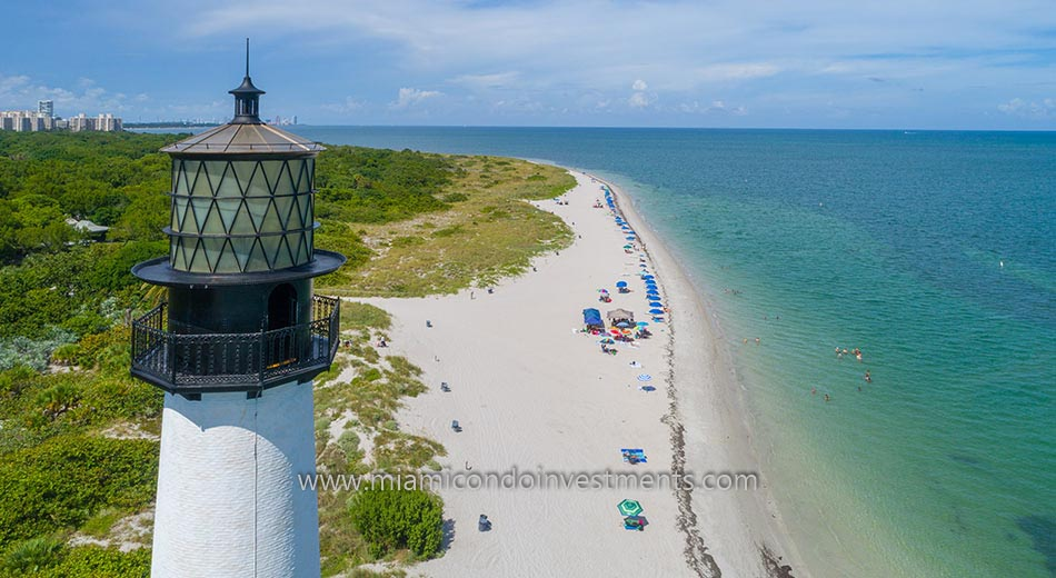 Cape Florida Lighthouse on Key Biscayne