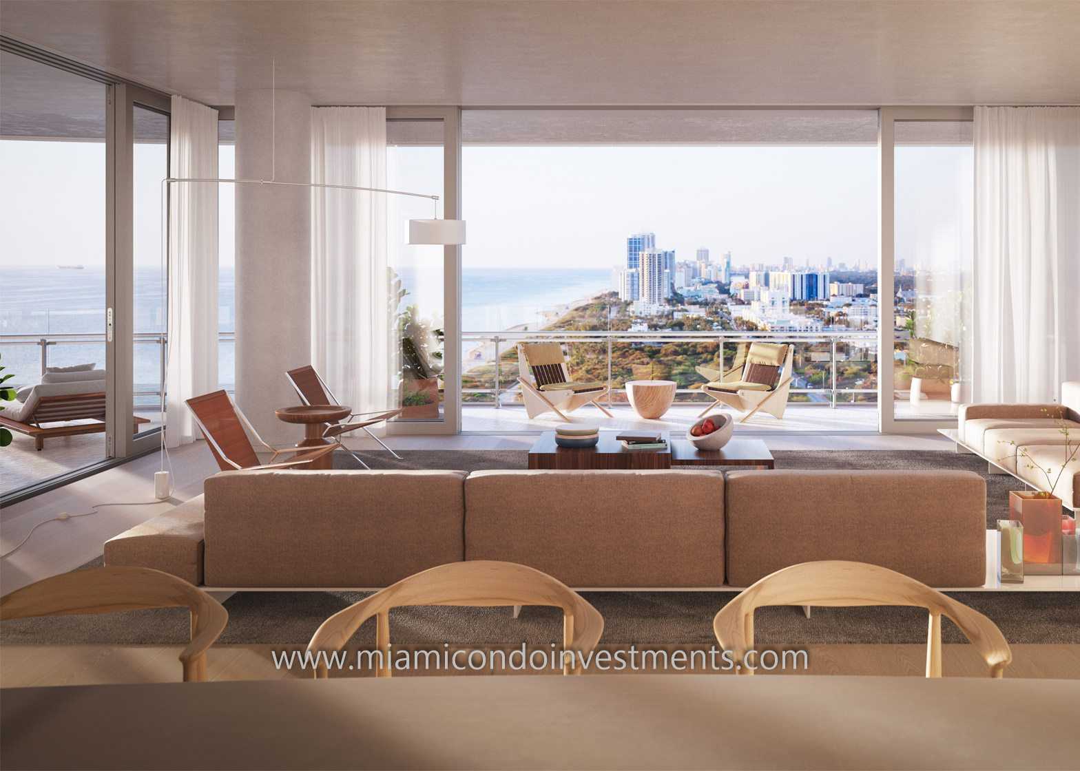 Eighty Seven Park Condos by Renzo Piano