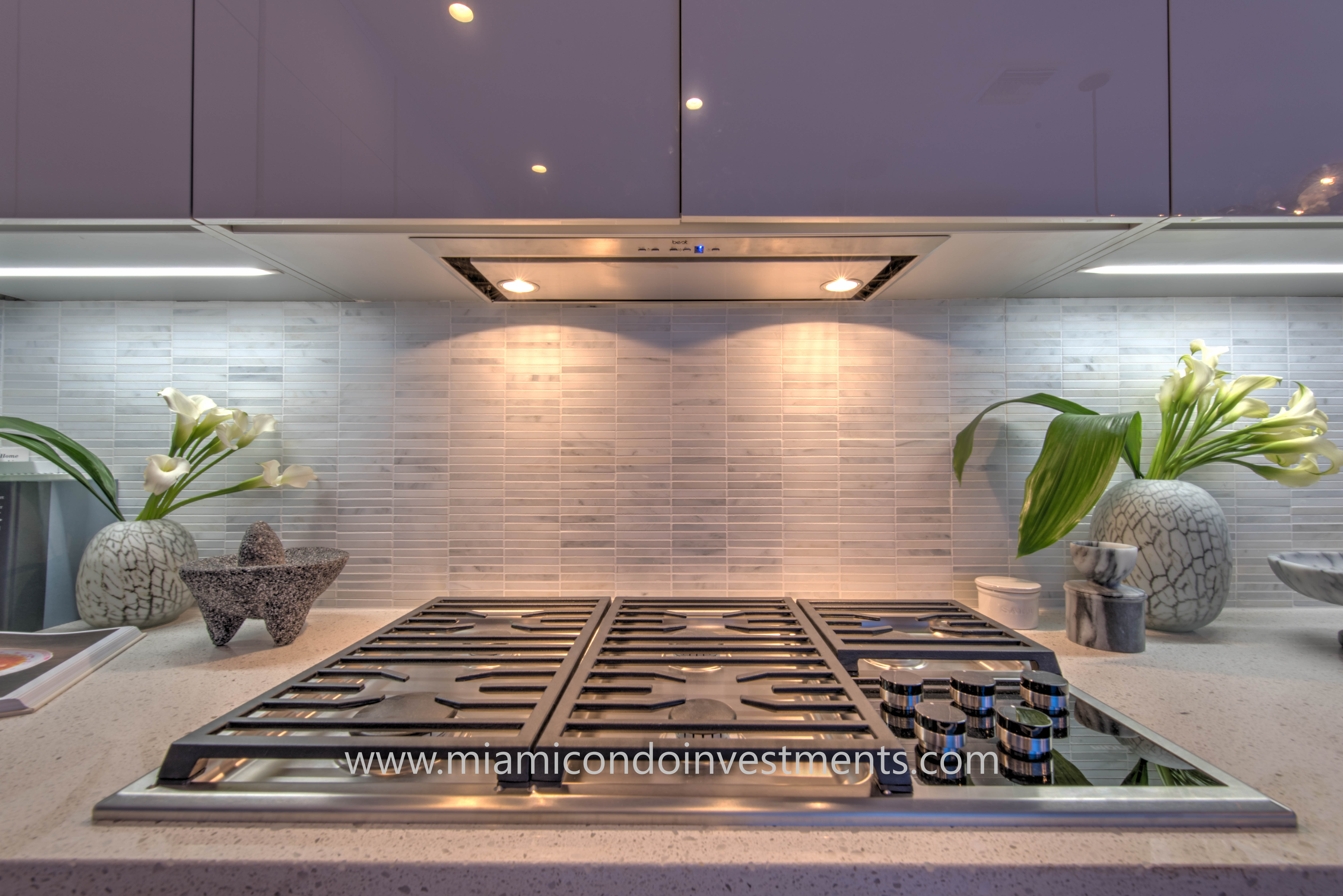 Elysee condos will include gas stoves in their kitchens