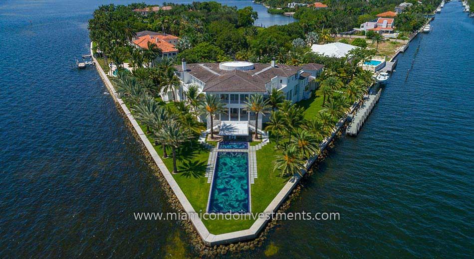 Gables Estates waterfront home
