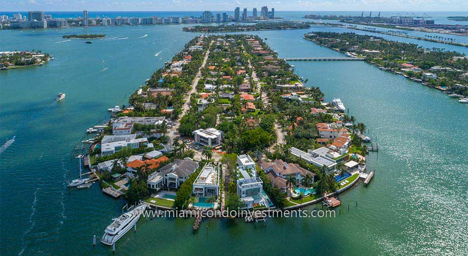 Hibiscus Island waterfront mansions