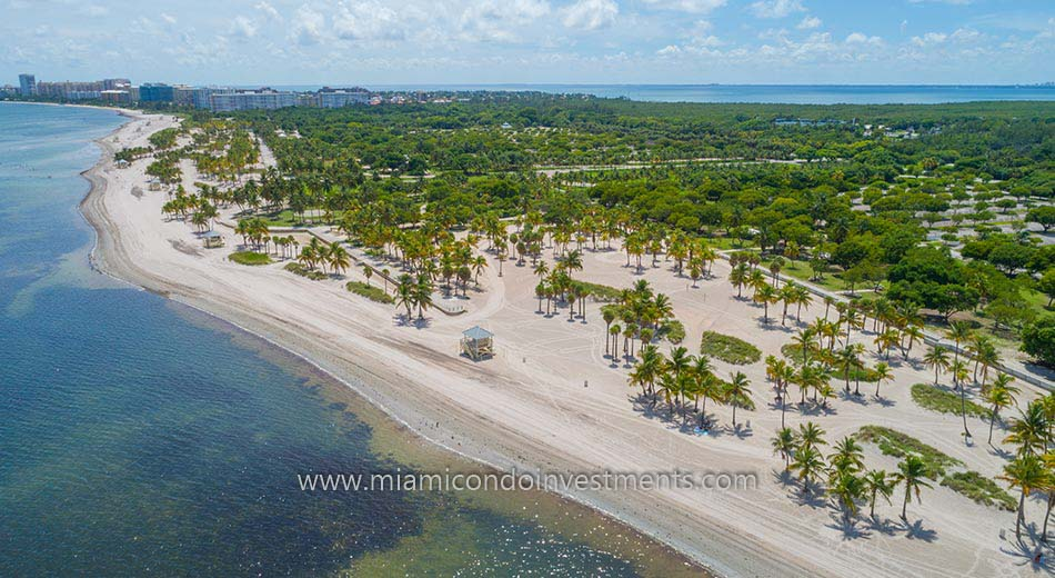 Crandon Park Beach on Key Biscayne