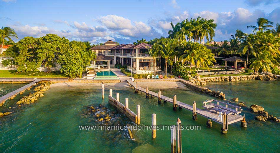 Key Biscayne waterfront home