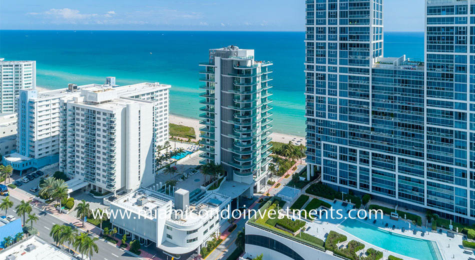ocean views from L'Atelier Miami Beach