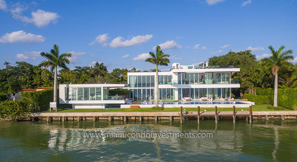 North Bay Road waterfront home