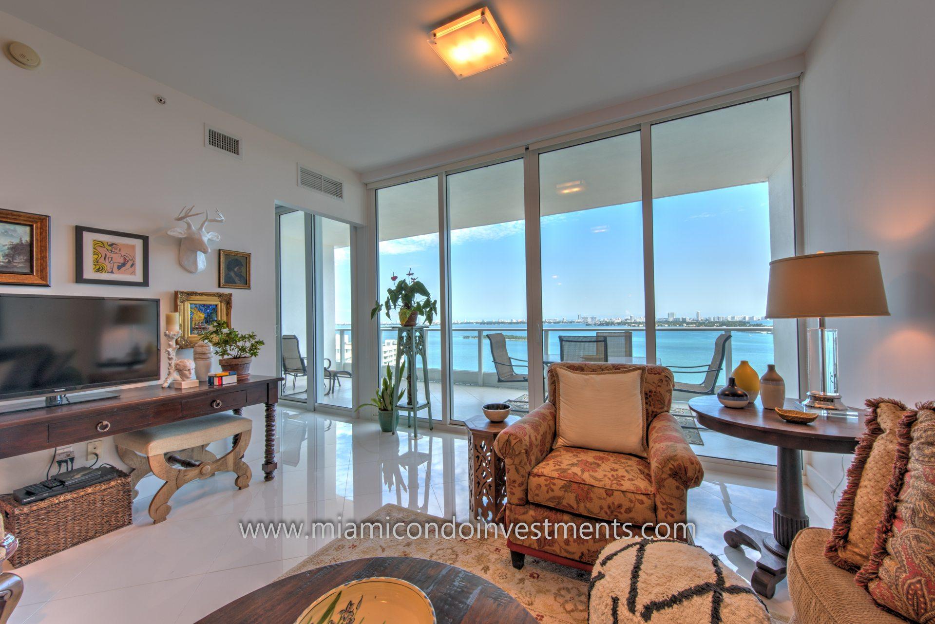 view from Paramount Bay condos
