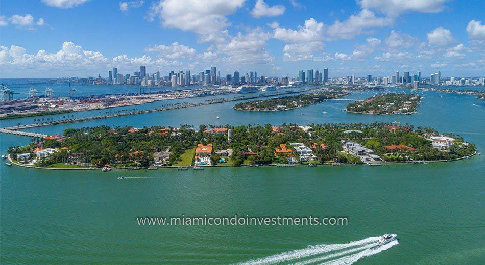 Star Island homes in Miami Beach
