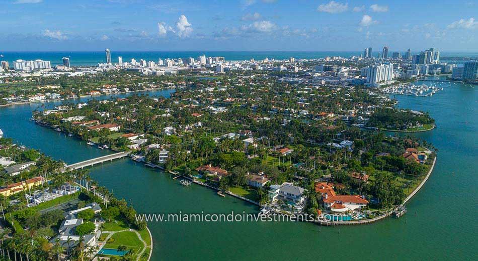 Sunset Islands real estate