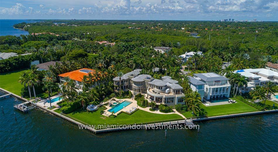 Tahiti Beach homes in Miami Florida