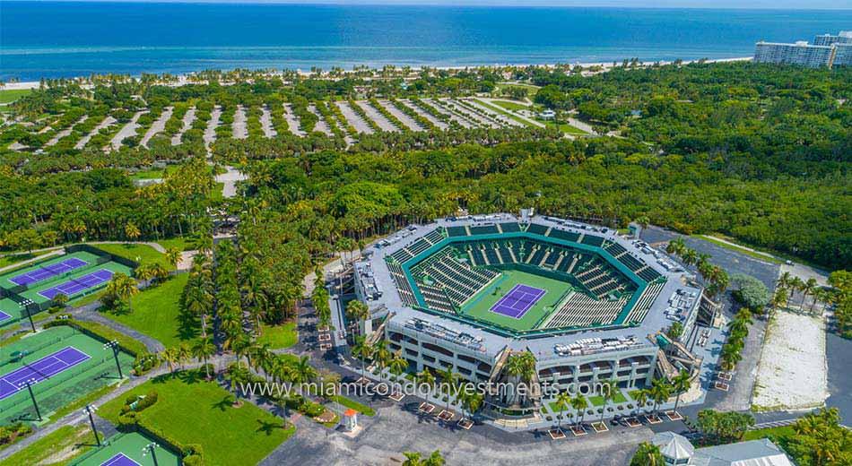 Tennis Center at Crandon Park on Key Biscayne