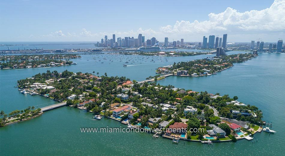 Venetian Islands waterfront homes